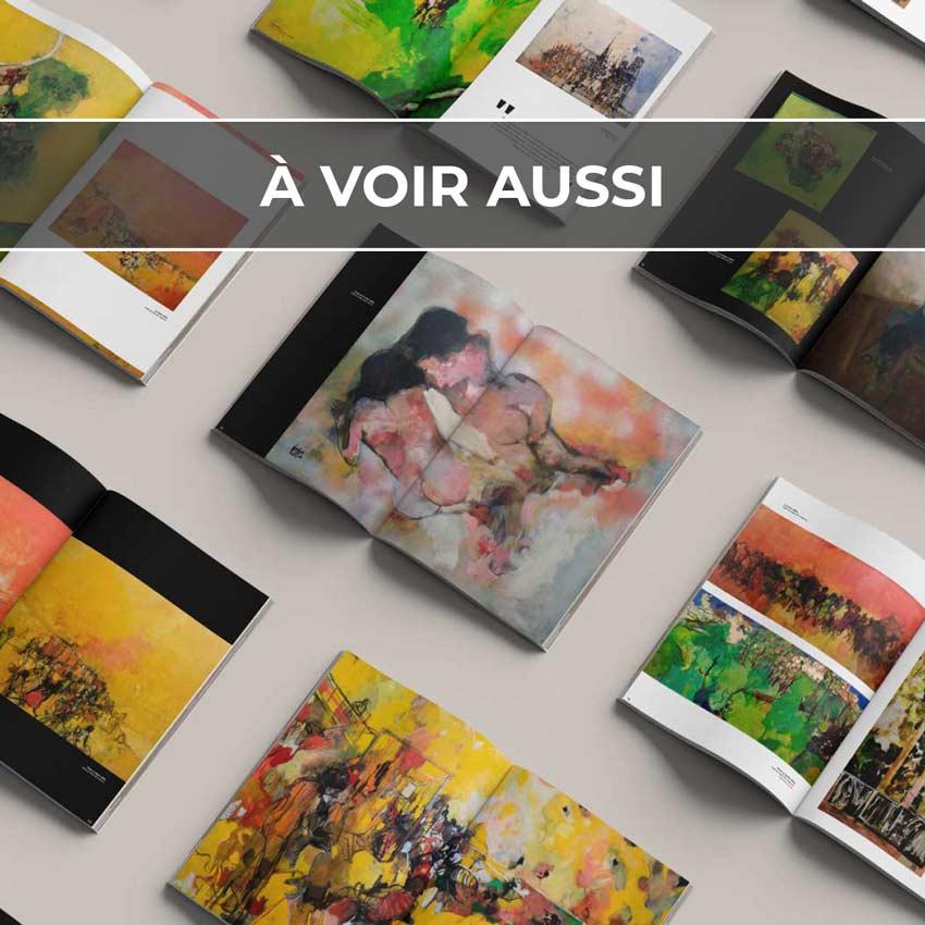 Renvoi au projet de catalogue pour l'exposition de P. Cara Costea, organisée par le Fonds Labegorre